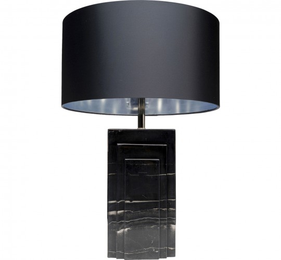 Lampe de table Rumba marbre noir Kare Design