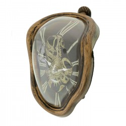 Horloge de table Flow Antique Kare Design