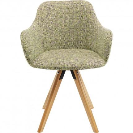 Chaise pivotante Lady verte Kare Design