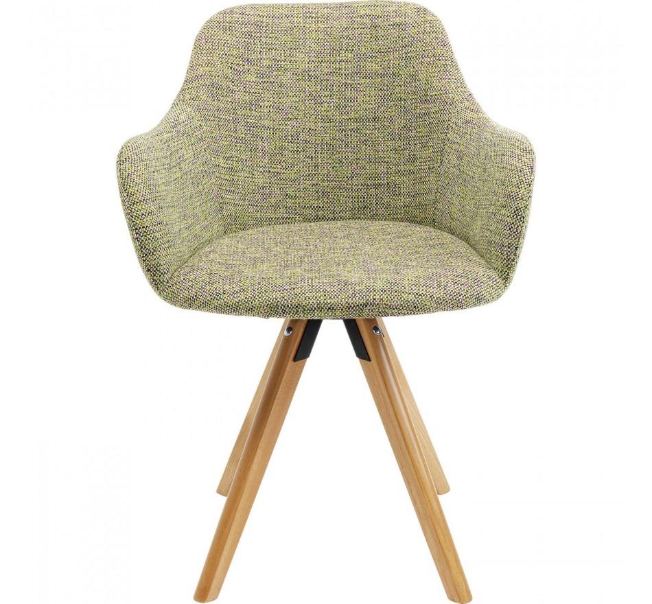 Chaise pivotante Lady vert