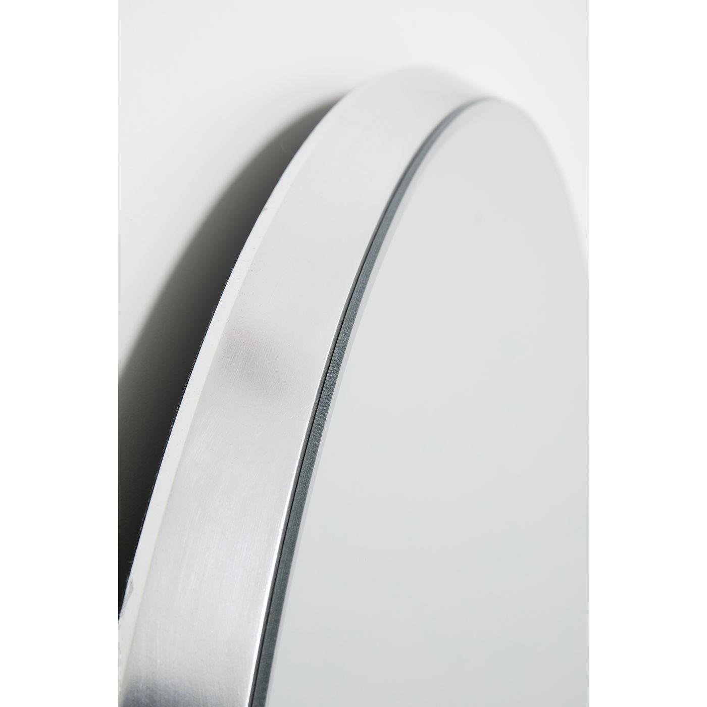 Miroir Jetset rond argenté 73cm Kare Design