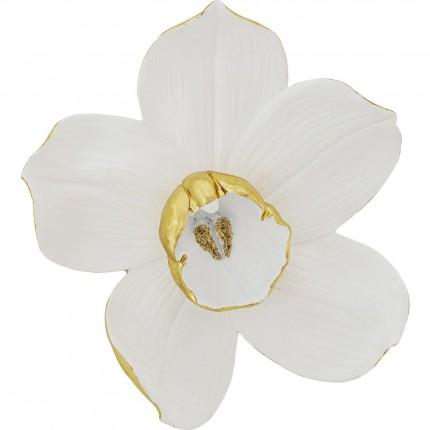 Déco murale Orchidée blanche 44cm Kare Design