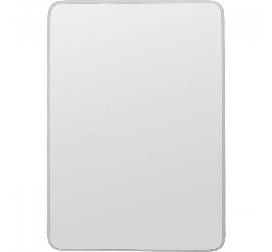 Miroir Jetset carré argenté 94x64cm Kare Design
