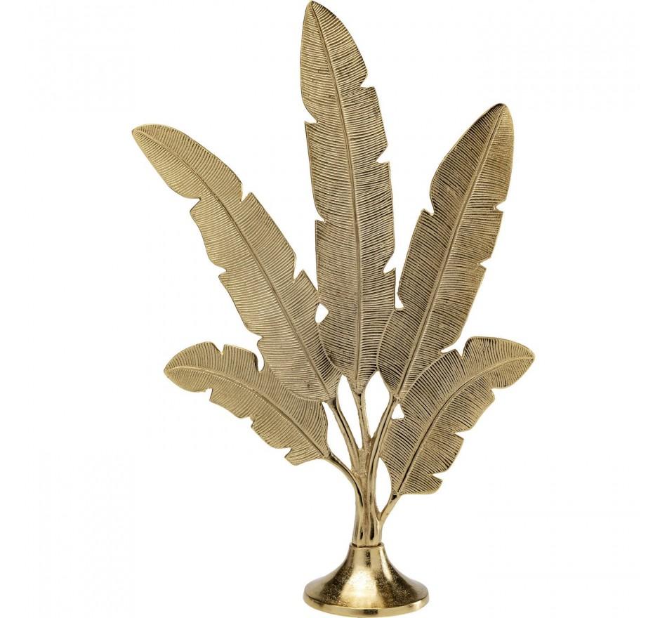 Déco Plumes dorées 73cm Kare Design