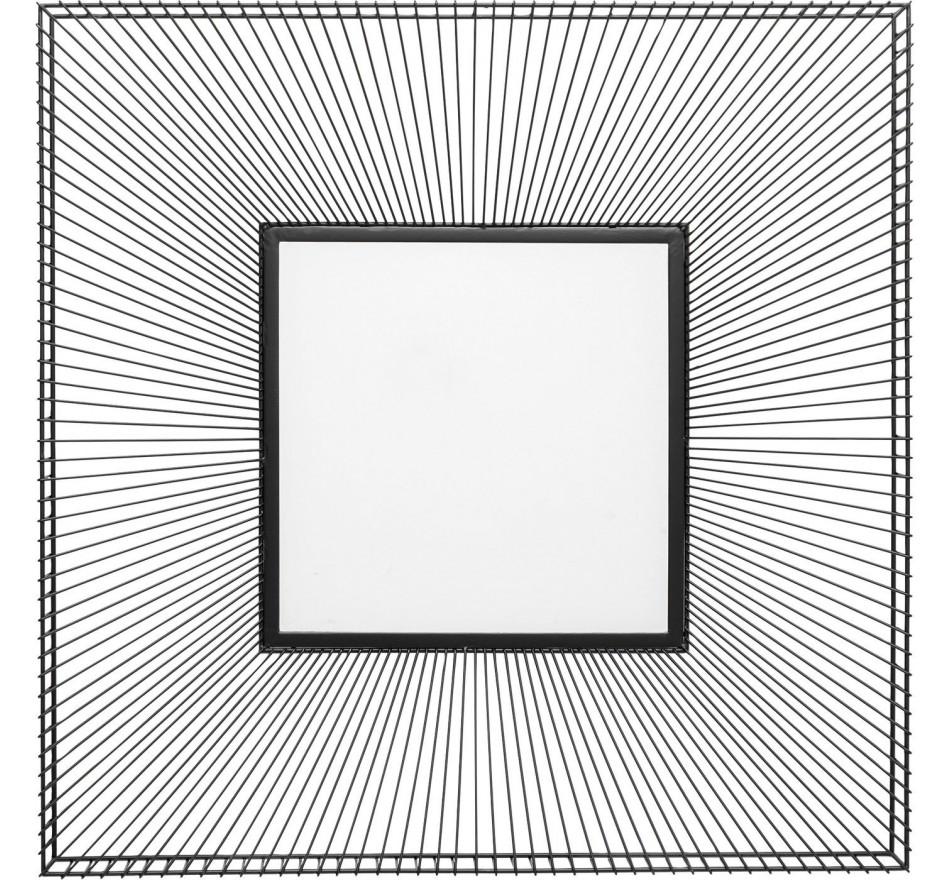 Miroir Dimension carré 91x91cm Kare Design