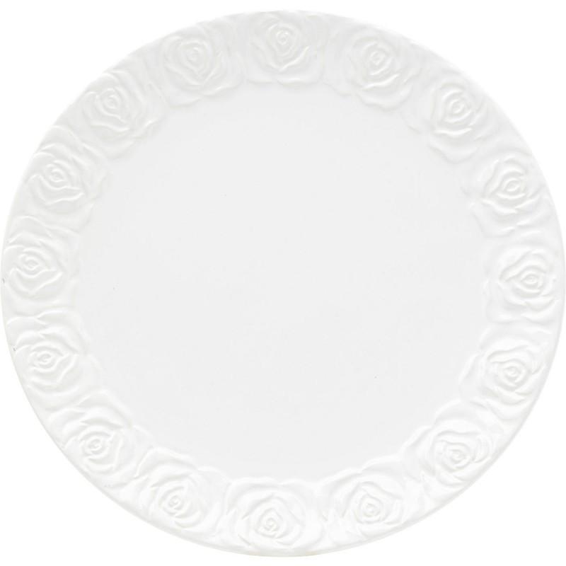 Set de petit-déjeuner Roses blanc Kare Design