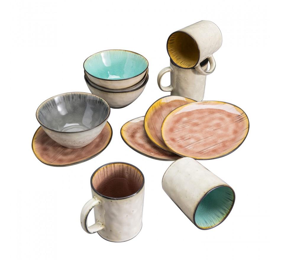 Set de petit-déjeuner Crackle Vivido Kare Design