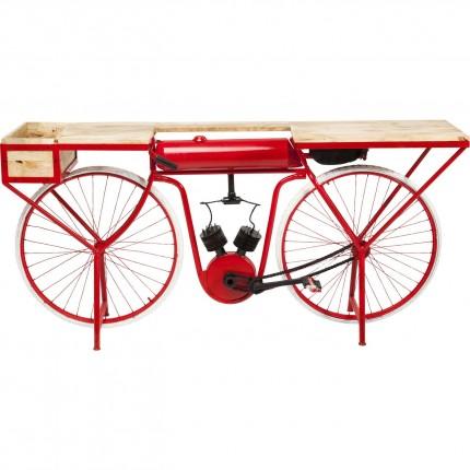 Console Vélo rouge Kare Design