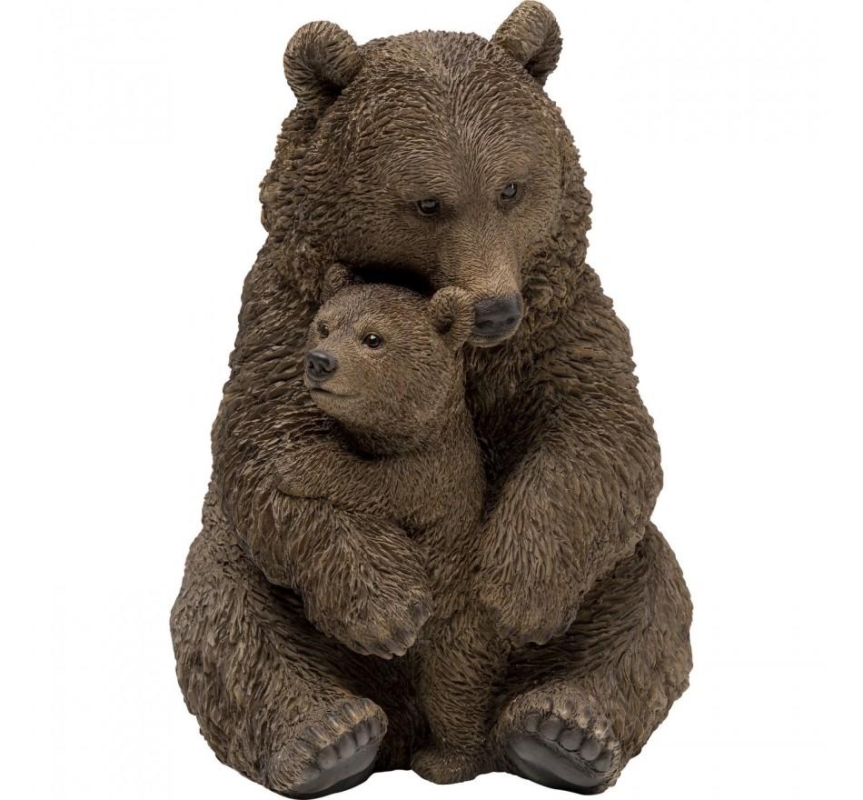 Déco ours câlins 26cm Kare Design