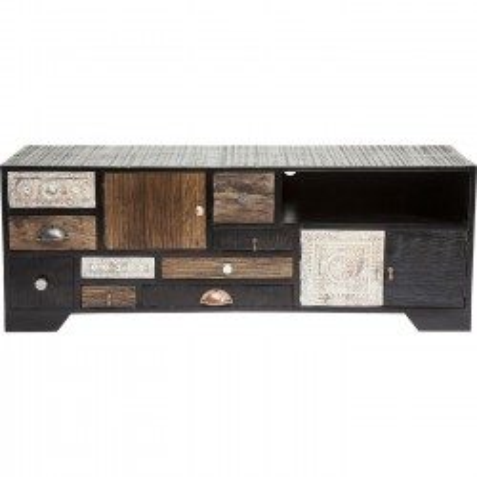 Buffet bas Finca 3 portes 9 tiroirs Kare Design