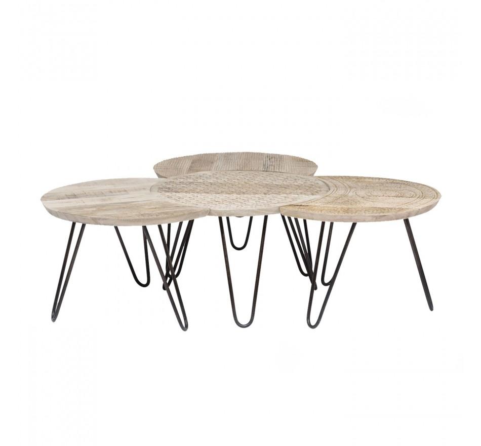 Table basse Puro 4/set Kare Design