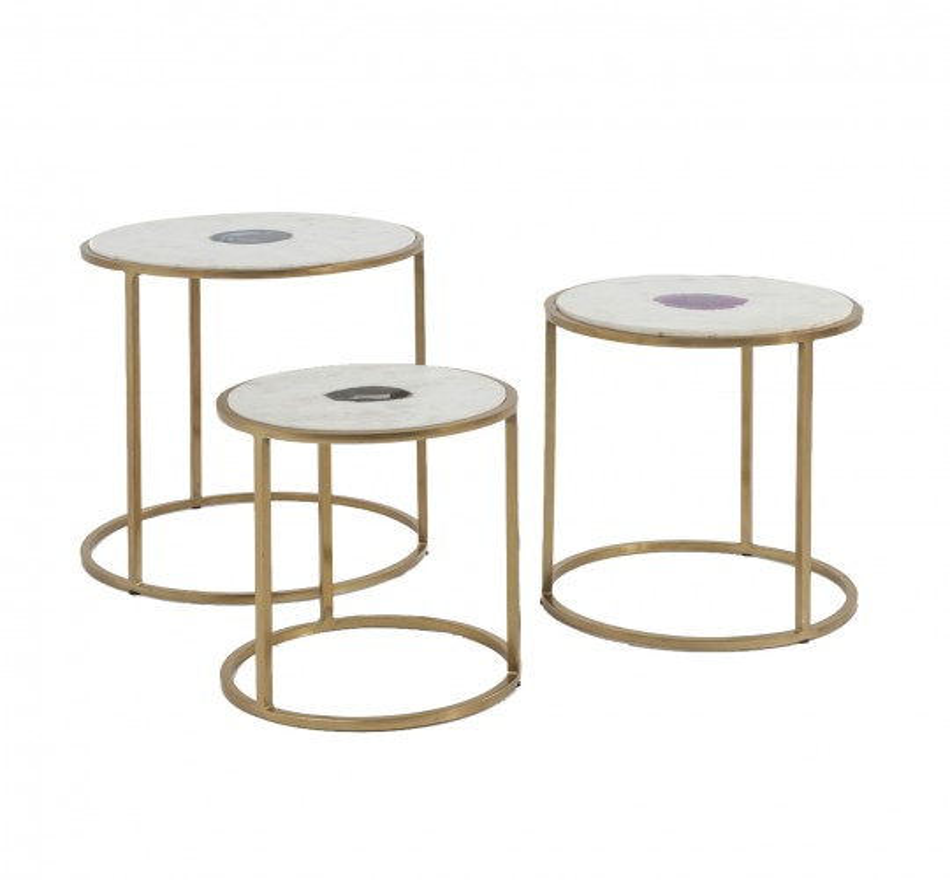Tables d'appoint Limbo 3/set Kare Design