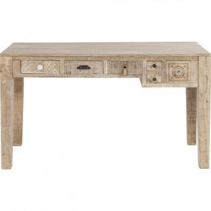 Bureau Puro 5 tiroirs 135x60cm Kare Design