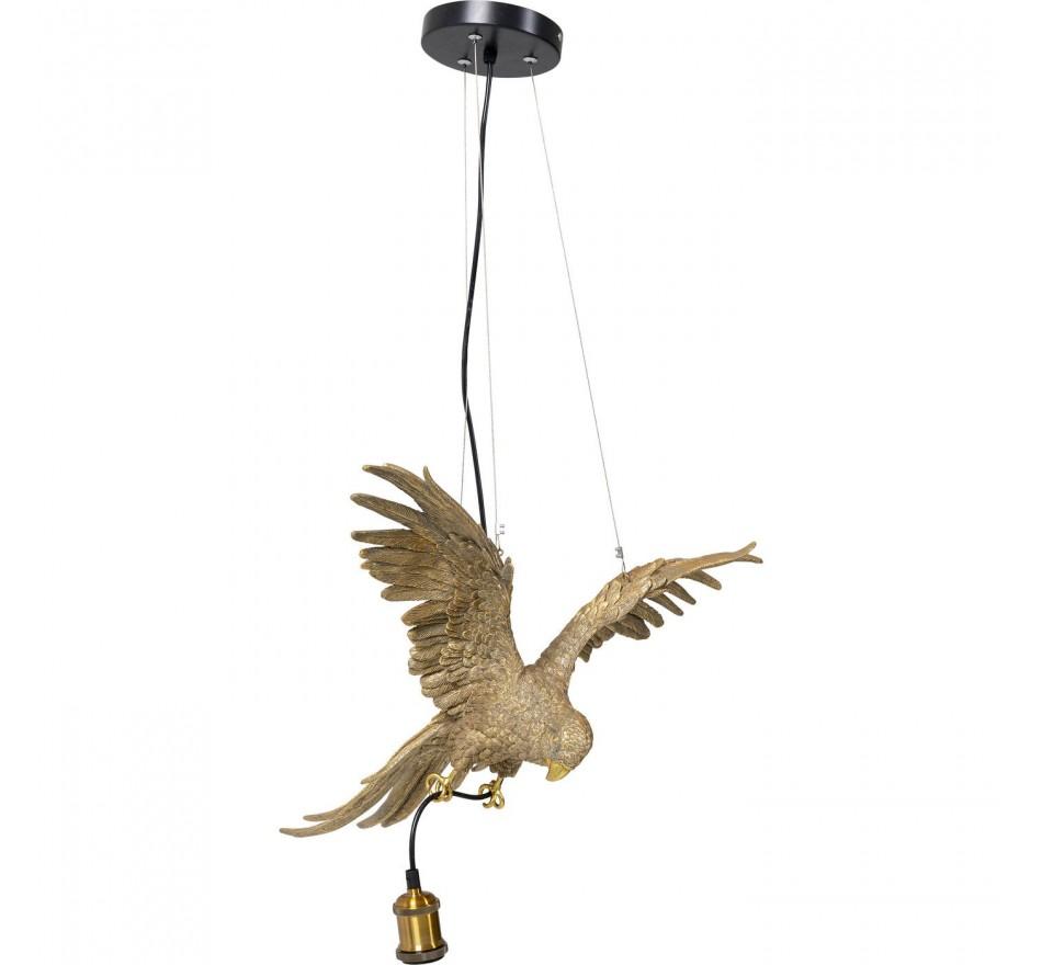 Suspension Perroquet doré Kare Design