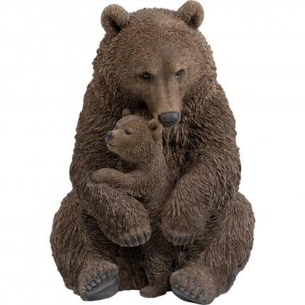 Déco ours câlins XL 81cm Kare Design