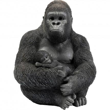 Déco famille gorille 40cm Kare Design