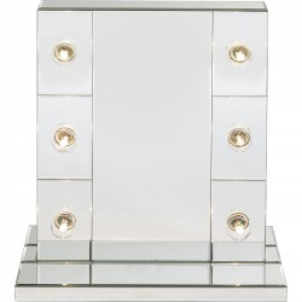 Miroir Make Up Stripes 56x45cm Kare Design