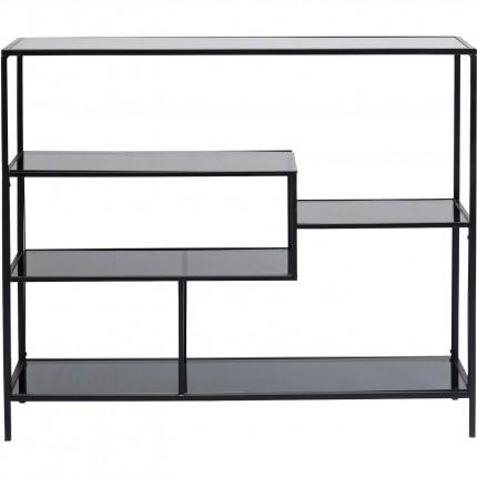Étagère Loft 100x115cm noire Kare Design