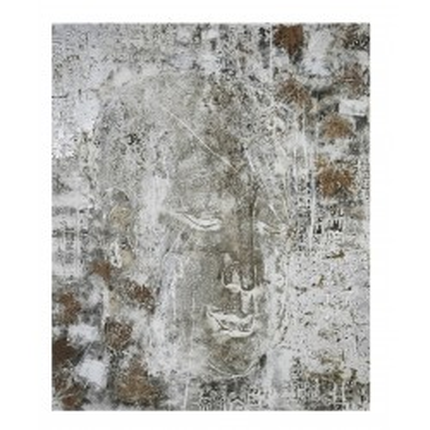 Peinture a l'huile Buddha Antik 150x120 Kare Design