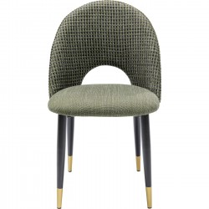 Chaise Hudson verte Kare Design