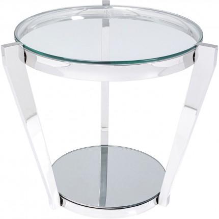 Table d'appoint Monocolo 50cm chromée Kare Design