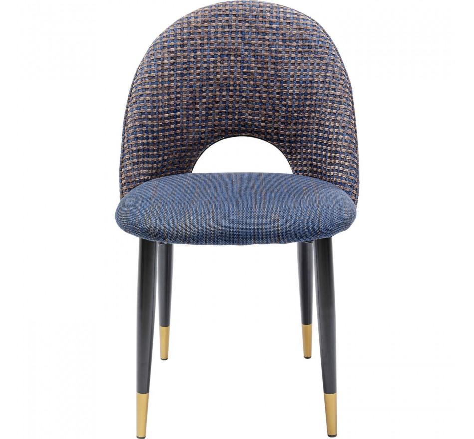 Chaise Hudson bleue Kare Design