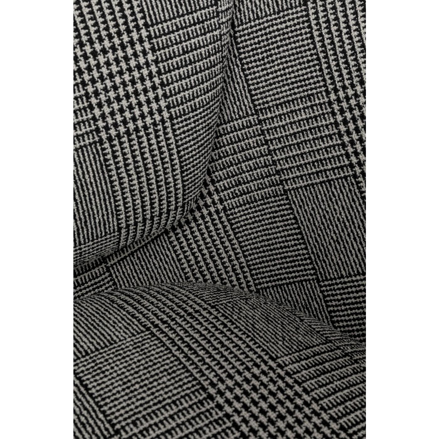 Fauteuil Arena noir et blanc Kare Design