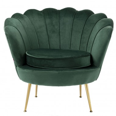 Fauteuil Water Lily vert Kare Design