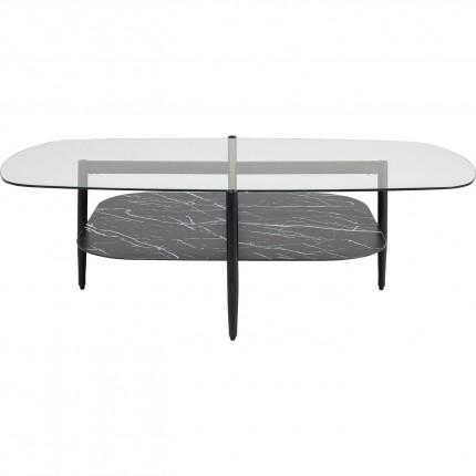 Table basse Noblesse ovale 140x76cm Kare Design