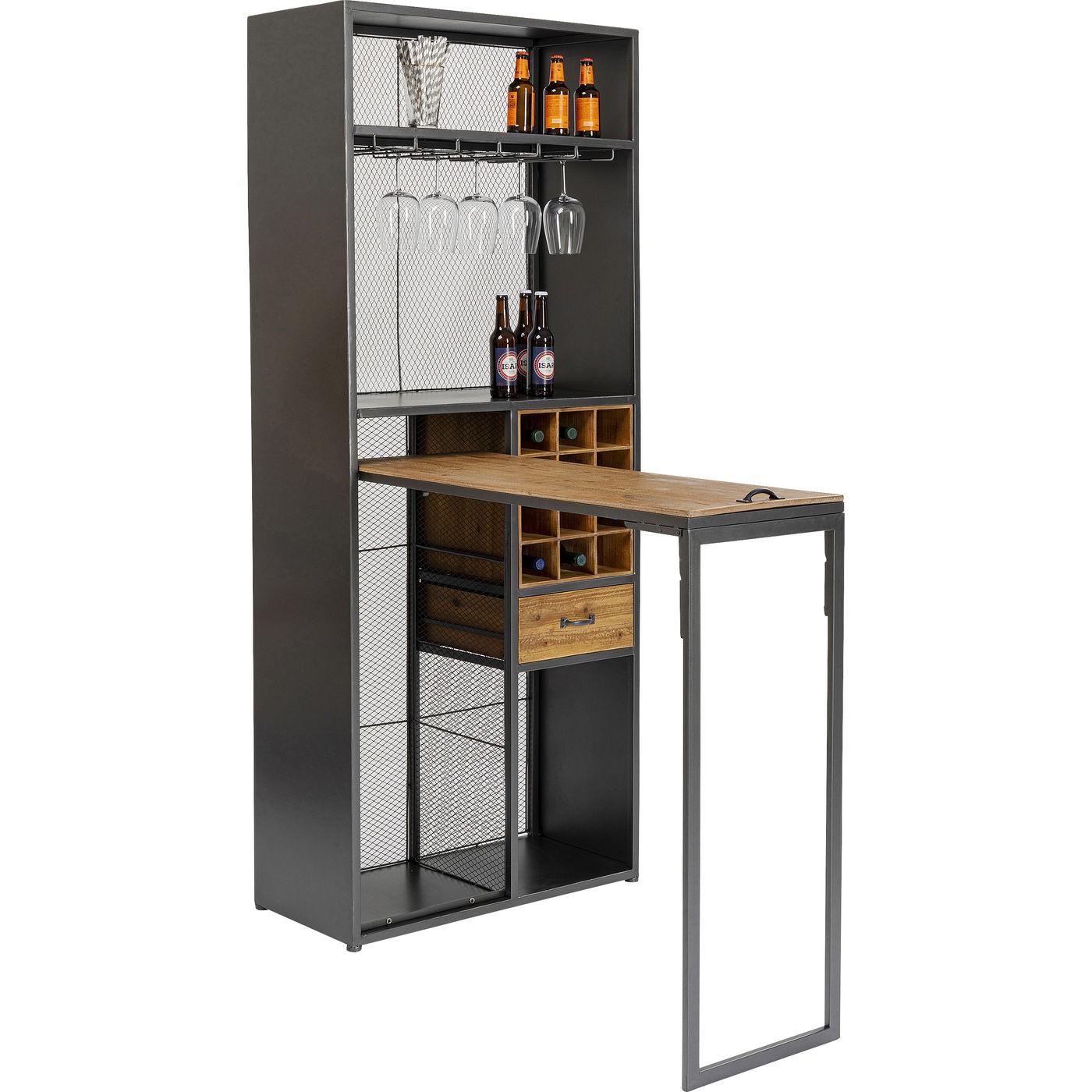 Meuble de bar avec table Vinoteca Kare Design