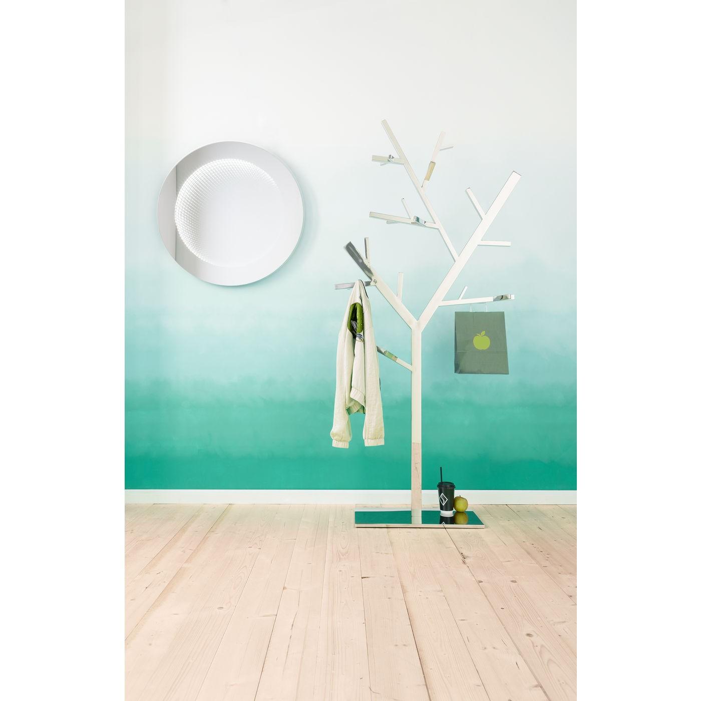 Miroir Tube 80cm LED Kare Design
