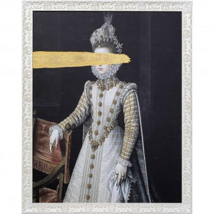Peinture à l'huile Frame Reine Incognito 80x100cm Kare Design