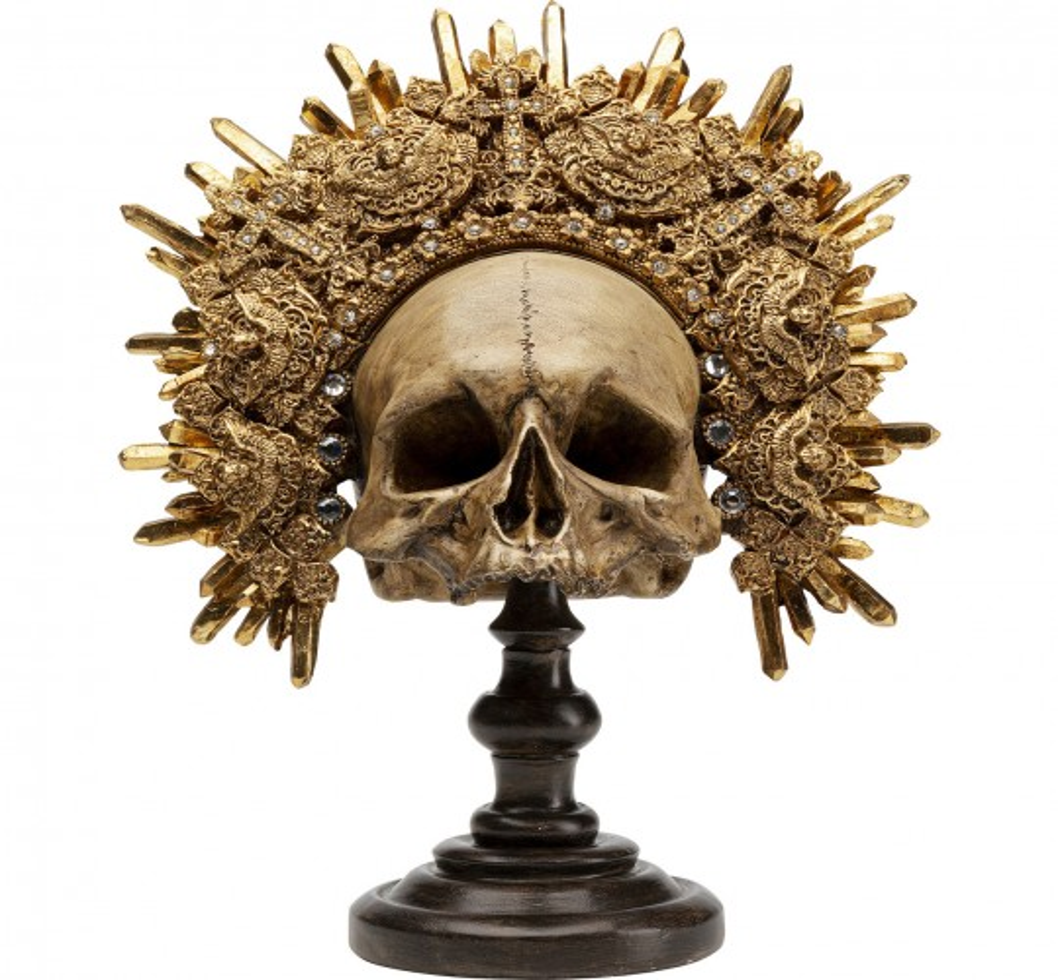 Déco crâne couronne Kare Design