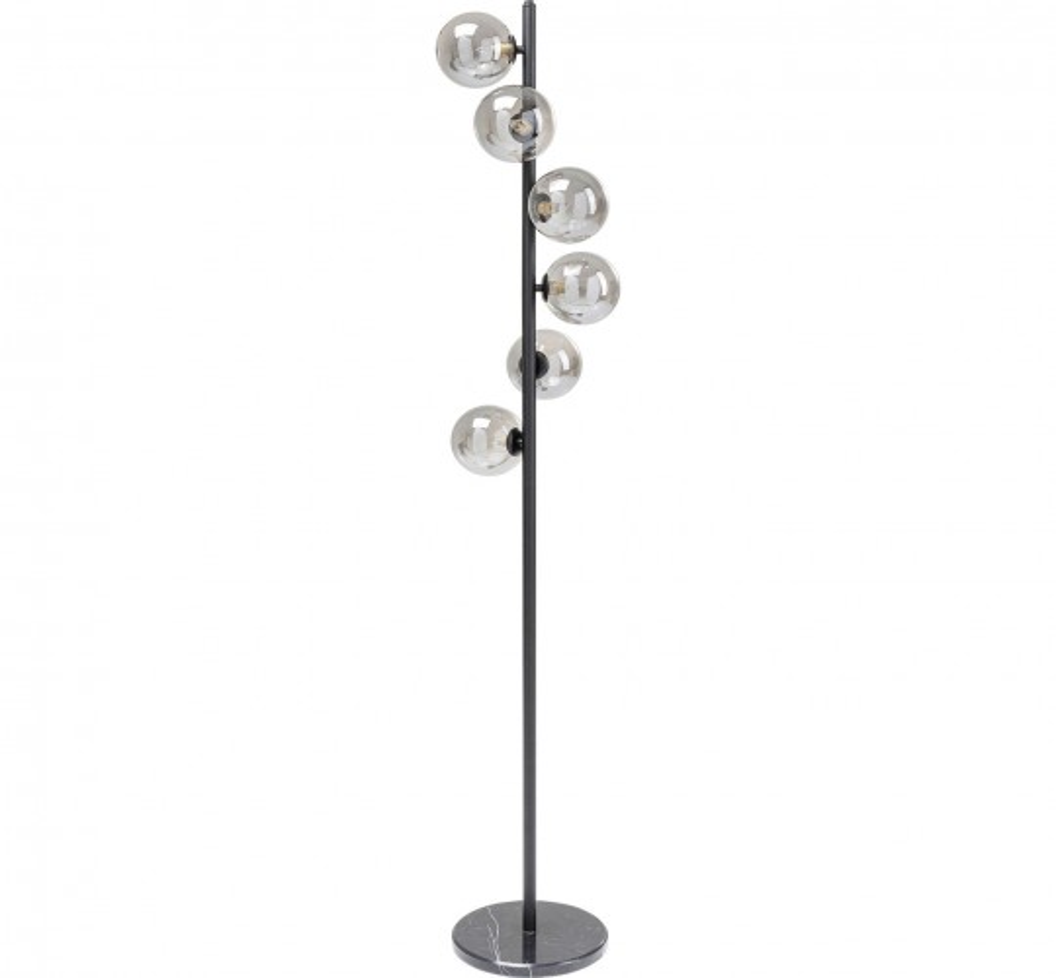 Lampadaire Scal Balls 160cm noir Kare Design