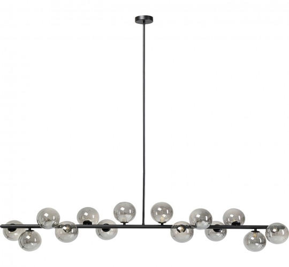 Suspension Scala Balls 150cm noire Kare Design