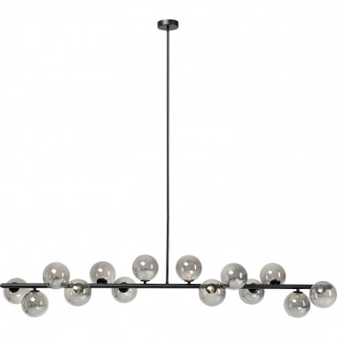 Suspension Scala Balls 150cm noire Kare Design
