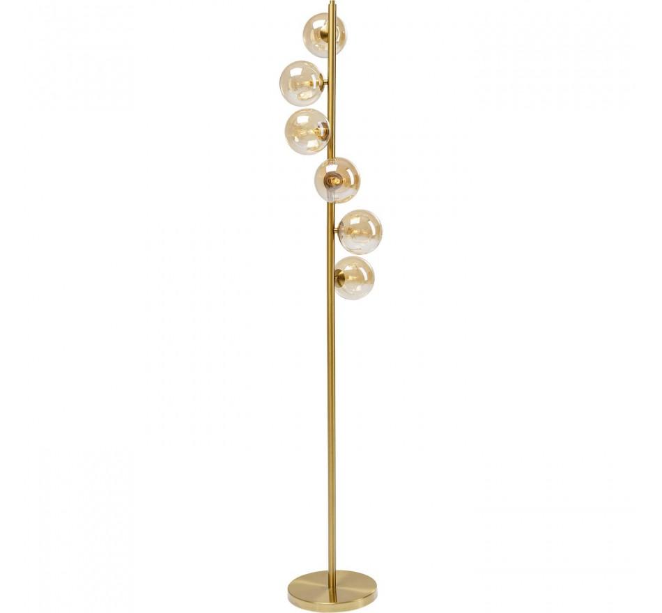 Lampadaire Scal Balls 160cm laiton Kare Design