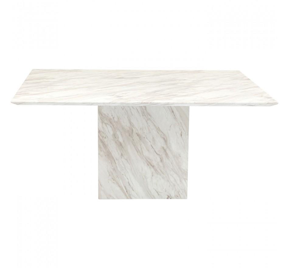 Table Artistico effet marbre 160x90cm Kare Design