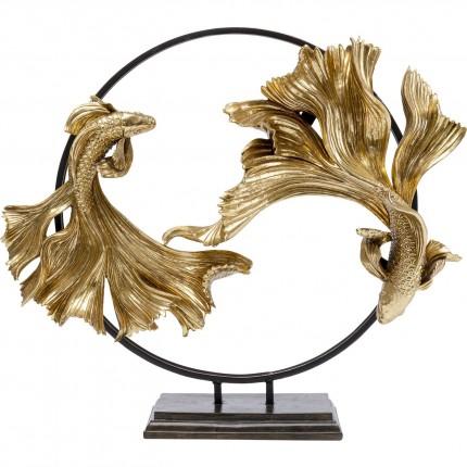 Déco cercle poissons combattants Kare Design