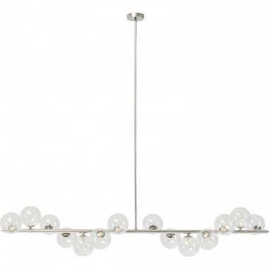 Suspension Scala Balls 150cm chrome Kare Design