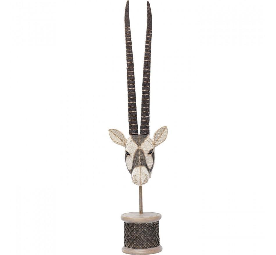 Déco tête antilope 76cm Kare Design