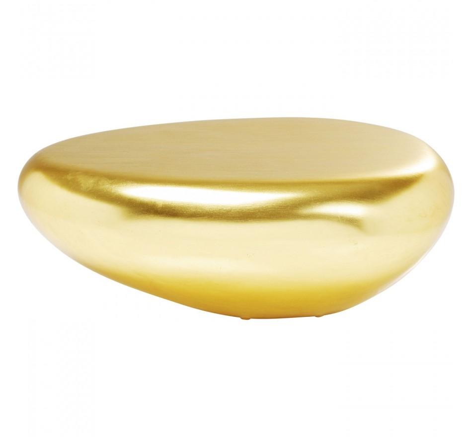 Table basse Pebble dorée Kare Design