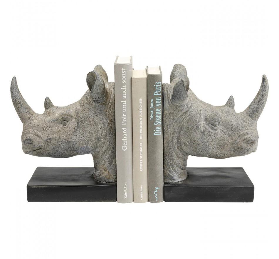 Serre-livres rhino set de 2 Kare Design