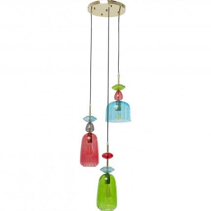 Suspension Goblet Colore Spiral Kare Design