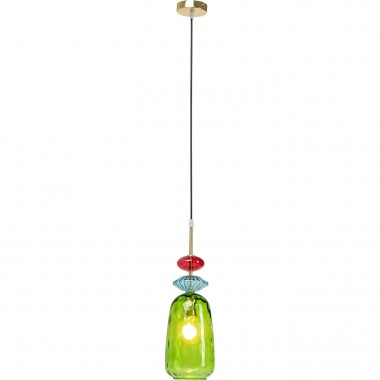 Suspension Goblet Colore Uno vert Kare Design