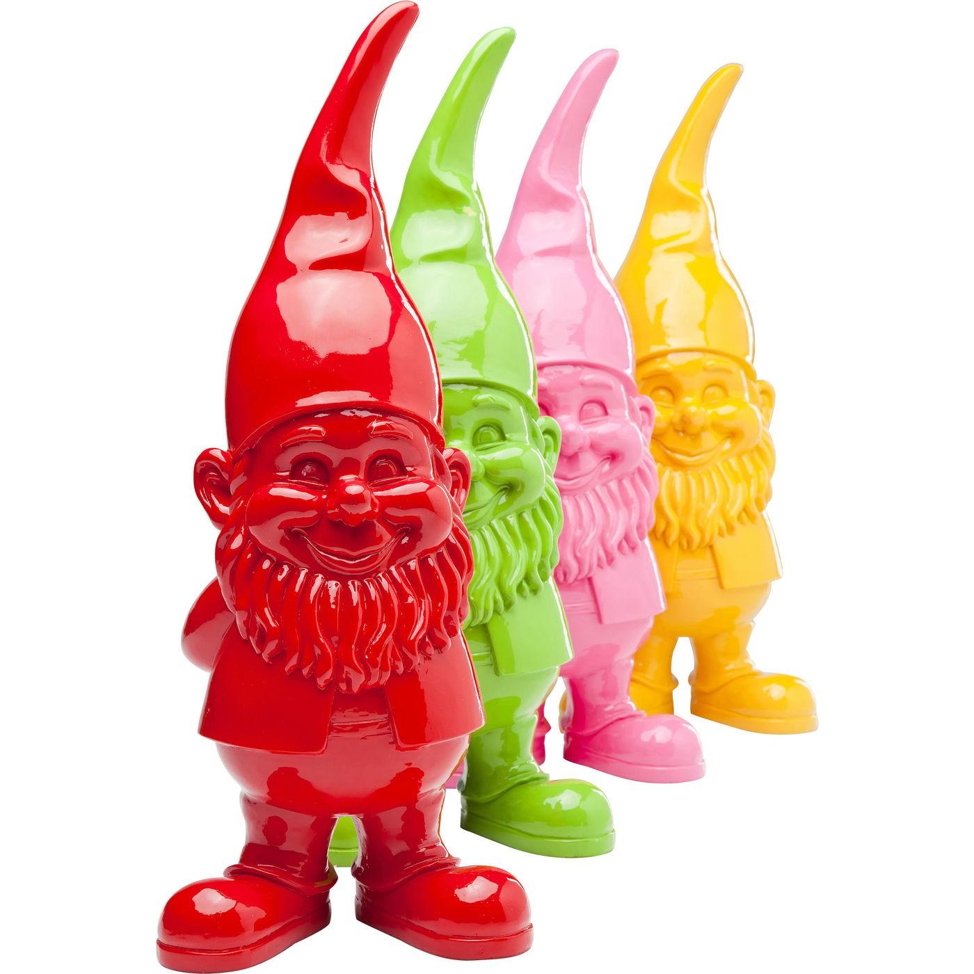 Déco gnome 46cm rose Kare Design