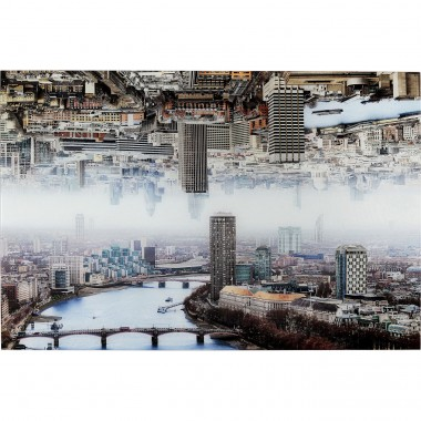 Tableau en verre London Double 120x80cm Kare Design