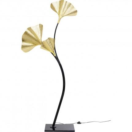 Lampadaire feuilles de ginkgo 182cm Kare Design