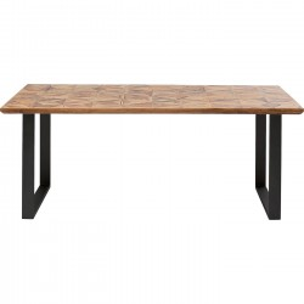 Table Stars noire 180x90cm Kare Design