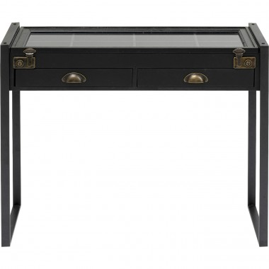 Console Collector noire 90x35cm Kare Design